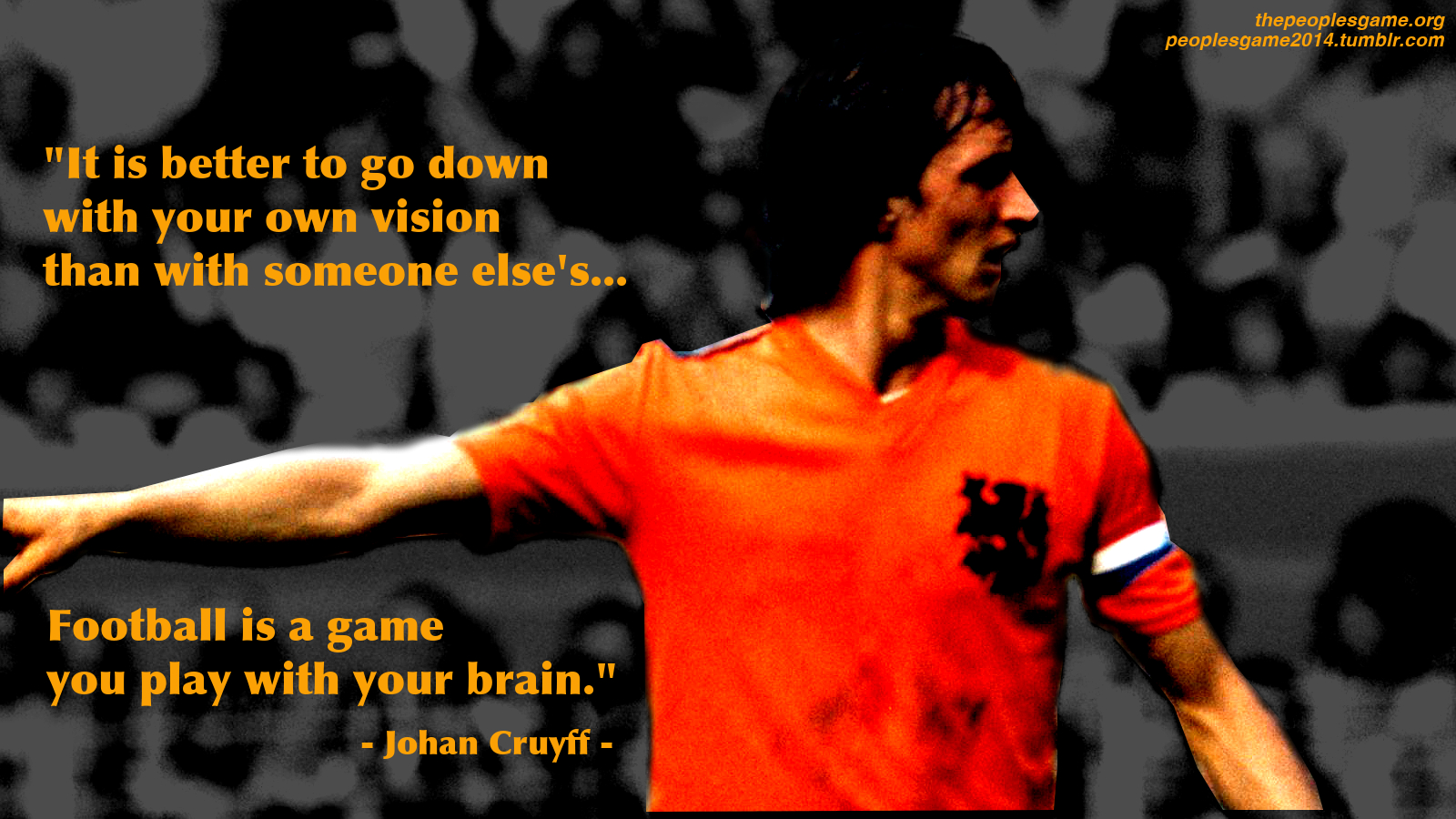 For more about Cruyff and Dutch football, check out The People's ...